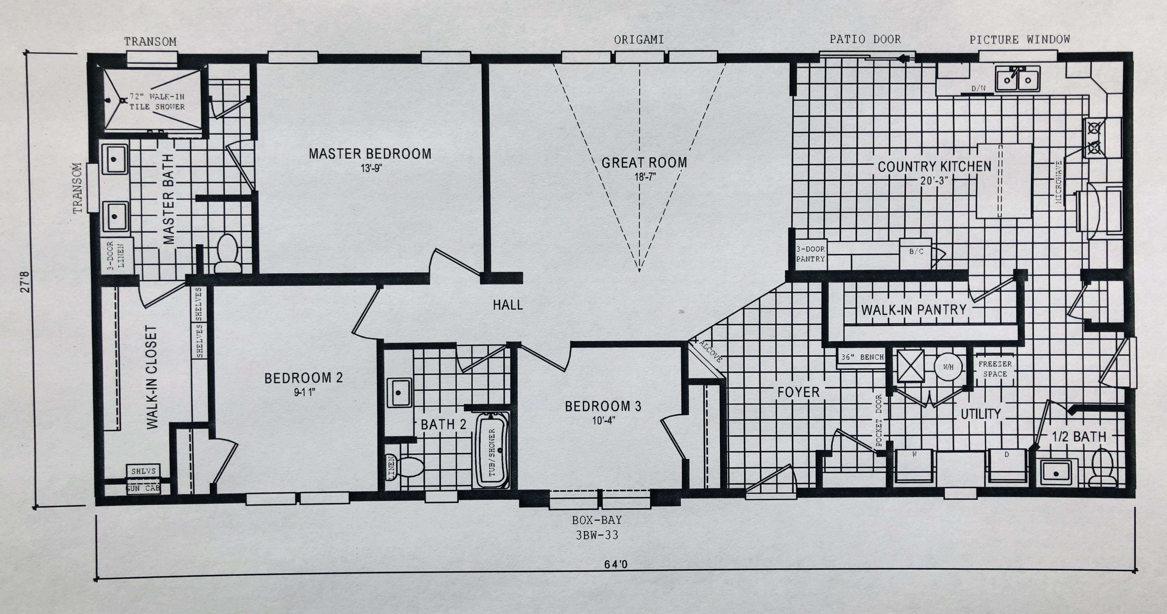 Homes Of Integrity Floor Plans: Minot – Schult Integrity 6428-12-1